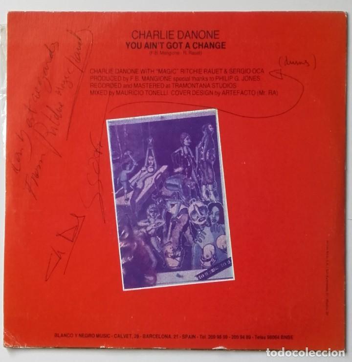 Discos de vinilo: Charly Danone: You aint got a chance - Foto 2 - 225974470