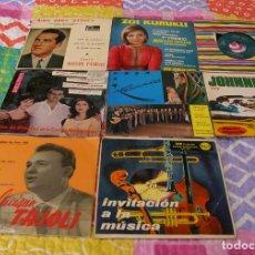 Discos de vinilo: LOTE DE 8 SINGLES A 45RPM. Lote 225976180