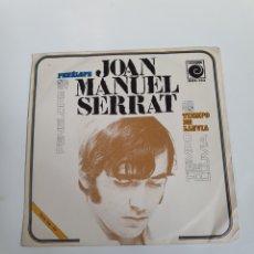 Discos de vinilo: JOAN MANUEL SERRAT - PENÉLOPE / TIEMPO DE LLUVIA, NOVOLA 1969.. Lote 225989095