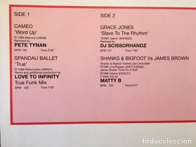 Discos de vinilo: LIMITED EDITION RELEASE 197/3 .3.0 HITMIXES EDICIÓN INGLESA DE 1999 STRICTLY DJ. ONLY - Foto 2 - 225991795