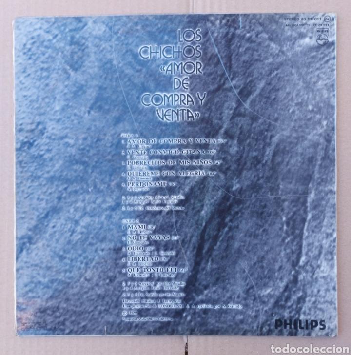 Discos de vinilo: Lp Los Chicos- amor de compra y venta/Philips - 1980 - Foto 2 - 225991861