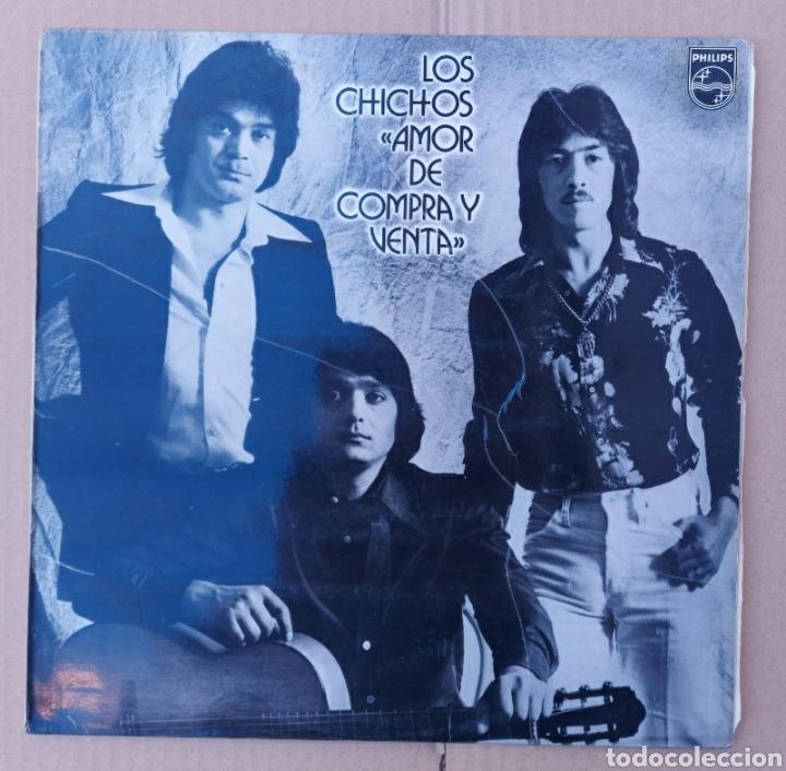 LP LOS CHICOS- AMOR DE COMPRA Y VENTA/PHILIPS - 1980 (Música - Discos - LP Vinilo - Grupos Españoles de los 90 a la actualidad)