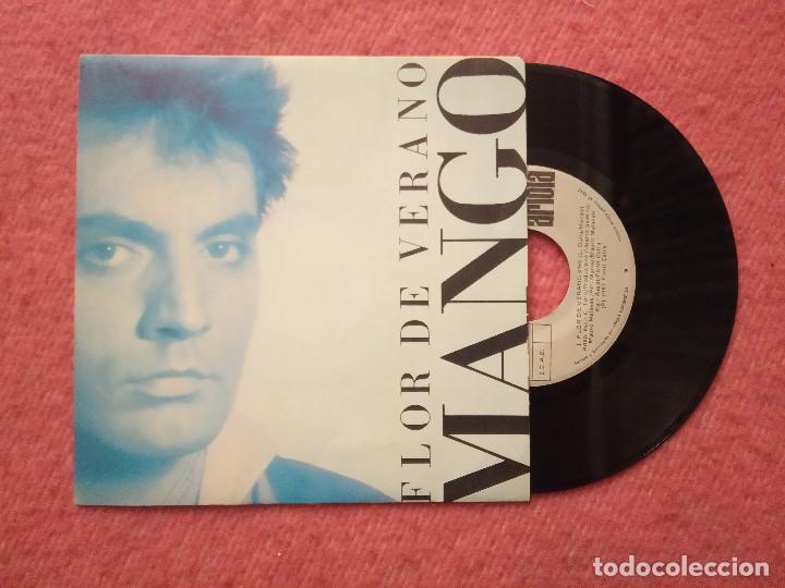 SINGLE MANGO - FLOR DE VERANO / BELLA D'ESTATE - ARIOLA 1A 109711 - SPAIN PRESS (NM/NM) (Música - Discos - Singles Vinilo - Canción Francesa e Italiana)