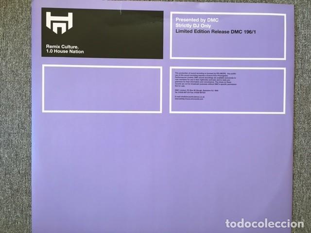 LIMITED EDITION RELEASE 196/1 . REMIX CULTURE EDICIÓN INGLESA DE 1999 STRICTLY DJ. ONLY (Música - Discos de Vinilo - Maxi Singles - Pop - Rock Extranjero de los 90 a la actualidad)