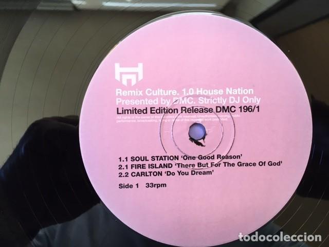 Discos de vinilo: LIMITED EDITION RELEASE 196/1 . REMIX CULTURE EDICIÓN INGLESA DE 1999 STRICTLY DJ. ONLY - Foto 3 - 225992925