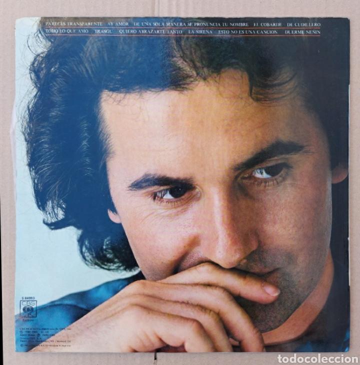 Discos de vinilo: Lp Victor Manuel- Ay amor/1976/CBS - Foto 2 - 225993065