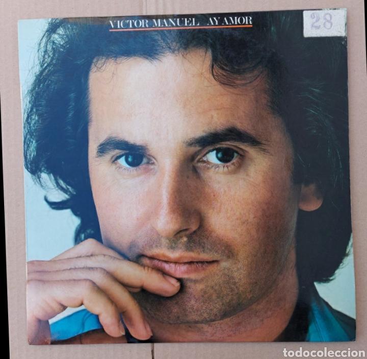 LP VICTOR MANUEL- AY AMOR/1976/CBS (Música - Discos - LP Vinilo - Solistas Españoles de los 70 a la actualidad)