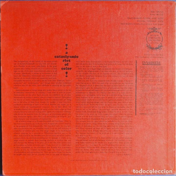 Discos de vinilo: ORQUESTA BOSTON SYMPHONY - SUITE DE LA ÓPERA EL GALLO DE ORO Y SUITE DE EL PÁJARO DE FUEGO.. - Foto 2 - 225993236