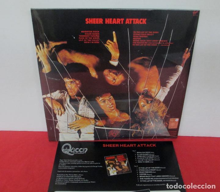 Discos de vinilo: QUEEN - SHEER HEART ATTACK - LP 2018 SPAIN + FASCICULO - NUEVO PRECINTADO - Foto 2 - 225993550