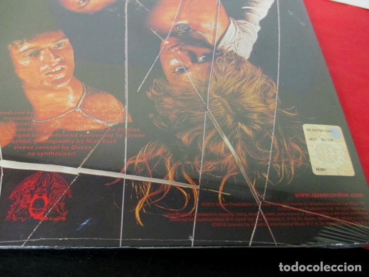 Discos de vinilo: QUEEN - SHEER HEART ATTACK - LP 2018 SPAIN + FASCICULO - NUEVO PRECINTADO - Foto 3 - 225993550