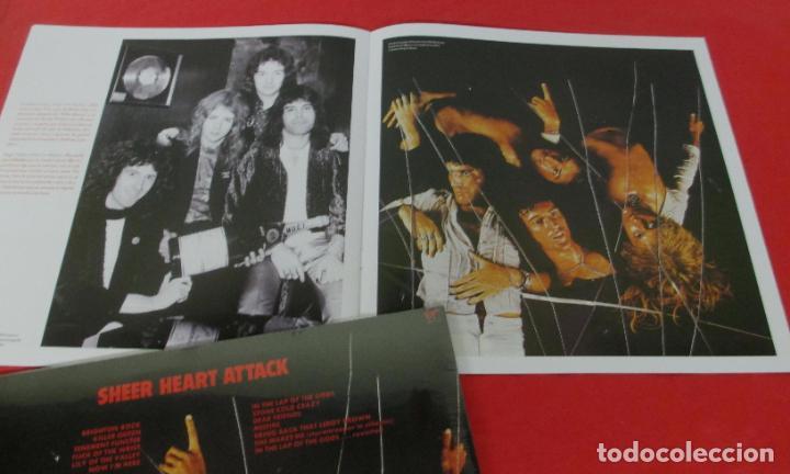 Discos de vinilo: QUEEN - SHEER HEART ATTACK - LP 2018 SPAIN + FASCICULO - NUEVO PRECINTADO - Foto 4 - 225993550