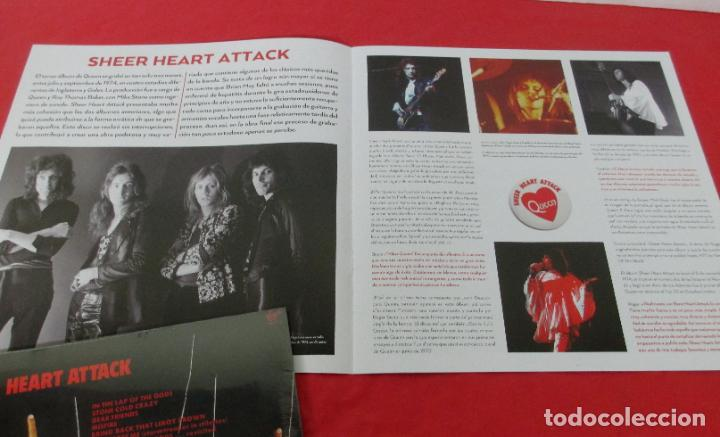 Discos de vinilo: QUEEN - SHEER HEART ATTACK - LP 2018 SPAIN + FASCICULO - NUEVO PRECINTADO - Foto 6 - 225993550