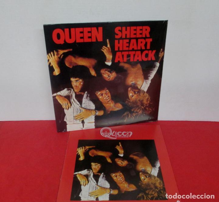 QUEEN - SHEER HEART ATTACK - LP 2018 SPAIN + FASCICULO - NUEVO PRECINTADO (Música - Discos - LP Vinilo - Pop - Rock - Extranjero de los 70)