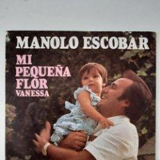 Discos de vinilo: LOTE SINGLES MANOLO ESCOBAR. Lote 225998955