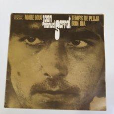 Discos de vinilo: JOAN MANUEL SERRAT - MARE LOLA / BON DIA / TEMPS DE PLUJA, EDIGSA 1969.. Lote 226001955