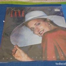 Discos de vinilo: LOCH01 LP COUNTRY DE LA EPOCA CRISTY LANE SIMPLE LITTLE WORDS BUEN ESTADO. Lote 226005990