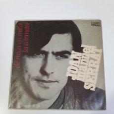 Discos de vinilo: JOAN MANUEL SERRAT - DE MICA EN MICA / LA CARMELA, EDIGSA 1969.. Lote 226007273