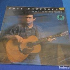 Discos de vinilo: LOCH01 LP COUNTRY DE LA EPOCA RUSS BARENBERG MOVING PICTURES MUY BUEN ESTADO. Lote 226013810