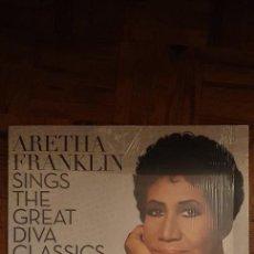 Discos de vinilo: ARETHA FRANKLIN – SINGS THE GREAT DIVA CLASSICS SELLO: RCA – LP. Lote 226028825
