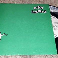 Disques de vinyle: TOY DOLLS - NELLIE THE ELEPHANT - SINGLE 1984. Lote 226035062