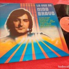 Discos de vinilo: NINO BRAVO LA VOZ DE NINO BRAVO LP 1980 ESPAÑA SPAIN POLYDOR EXCELENTE ESTADO. Lote 226039675