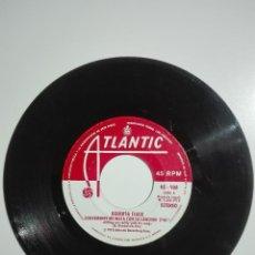 """Discos de vinilo: VINILO 7"""" SINGLE ROBERTA FLACK SUAVEMENTE ME MATA CON SU CANCION / COMO UNA MUJER - 1973 - 45G. Lote 226061575"""