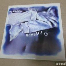 Disques de vinyle: HOMBRES G (SINGLE) TORMENTA CONTIGO AÑO 1992 - PROMOCIONAL. Lote 226087951