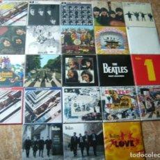 Discos de vinilo: LOTE THE BEATLES COLECCION -DISCOGRAFIA (23 LPS, 5 TRIPLES Y 6 DOBLES) + FASCÍCULOS Y 1 CONTENEDOR. Lote 226117861