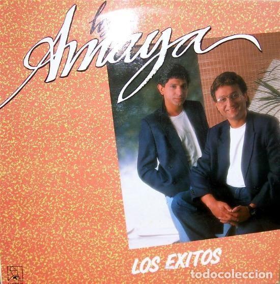 LOS AMAYA - LOS EXITOS LP SPAIN 1991 (Música - Discos - LP Vinilo - Flamenco, Canción española y Cuplé)