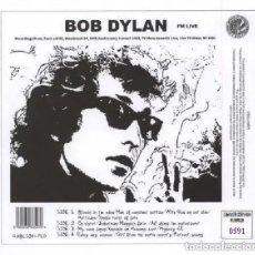 Discos de vinilo: BOB DYLAN * FM LIVE * 2LP 180G + CD * MUY LIMITADO Y NUMERADO * PRECINTADO DE FÁBRICA. Lote 226120475