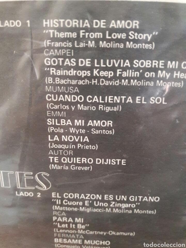 Discos de vinilo: LP LOS 3 TRES DIAMANTES EL CORAZON ES UN GITANO HISTORIA DE AMOR RAREZA VG+ - Foto 3 - 226123887