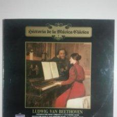 """Discos de vinilo: VINILO 12"""" LP LUDWING VAN BEETHOVEN CONCIERTO Y SONATA PARA PIANO Nº 2 Nº 24 Nº 31- 1983 - 200G. Lote 226126381"""