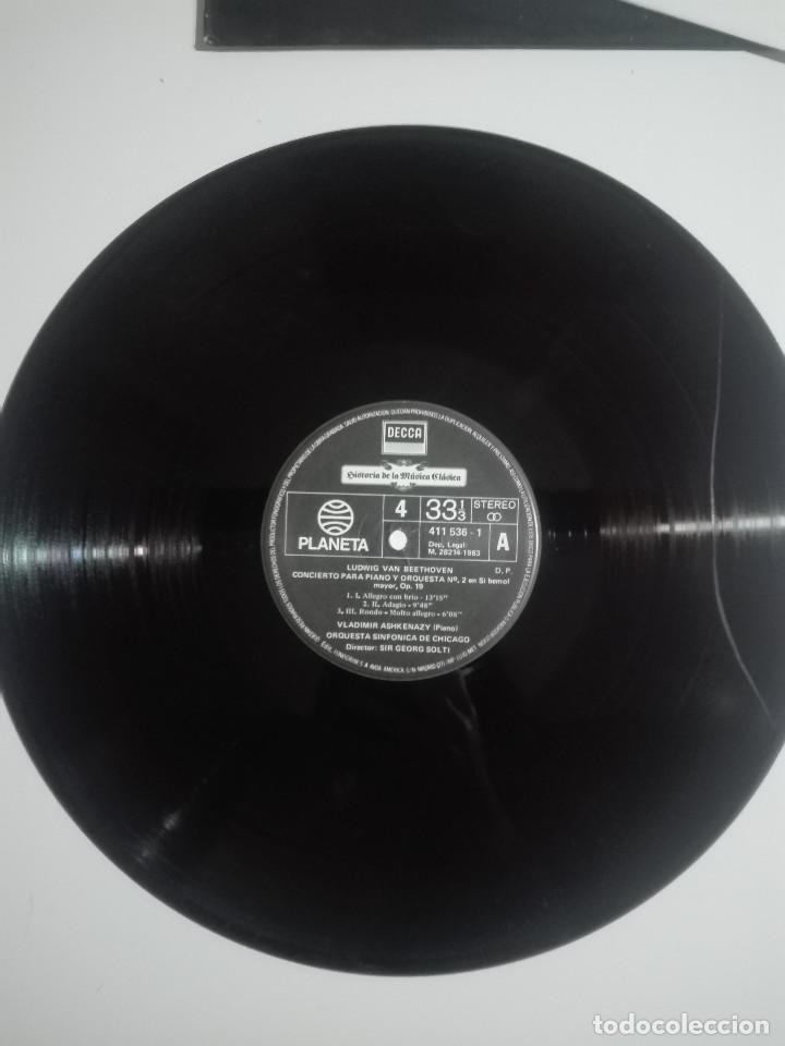"""Discos de vinilo: VINILO 12"""" LP LUDWING VAN BEETHOVEN CONCIERTO Y SONATA PARA PIANO Nº 2 Nº 24 Nº 31- 1983 - 200g - Foto 2 - 226126381"""