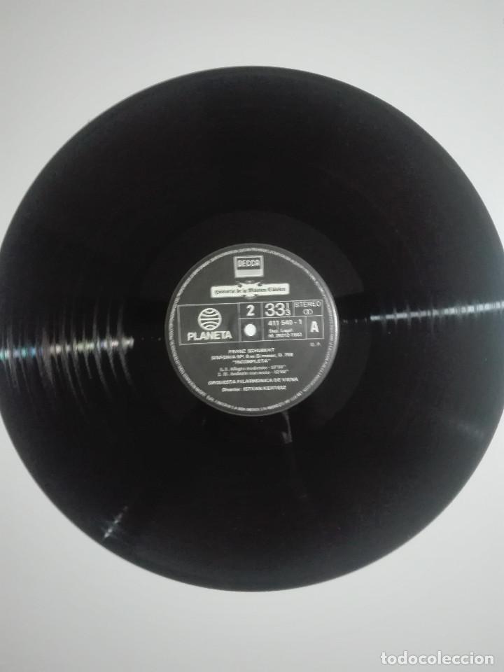 "Discos de vinilo: VINILO 12"" LP FRANZ SHUBERT SINFONIA Nº 8 EN SI MENOR Y ROSAMUNDA DE BALET - 1983 - 200g - Foto 2 - 226126795"