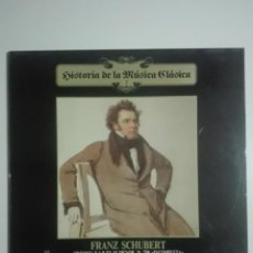 "Discos de vinilo: VINILO 12"" LP FRANZ SHUBERT SINFONIA Nº 8 EN SI MENOR Y ROSAMUNDA DE BALET - 1983 - 200G. Lote 226126795"