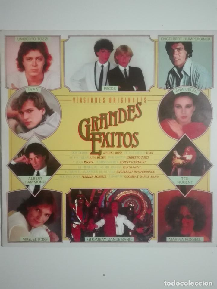 """VINILO 12"""" LP GRANDES EXITOS ORIGINALES ANA BELEN MIGUEL BOSE PECOS TED NUGENT - 1981 - 220G (Música - Discos - LP Vinilo - Otros estilos)"""