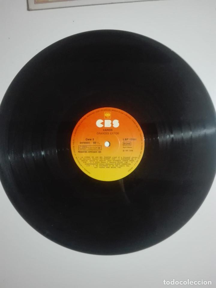 """Discos de vinilo: VINILO 12"""" LP GRANDES EXITOS ORIGINALES ANA BELEN MIGUEL BOSE PECOS TED NUGENT - 1981 - 220g - Foto 2 - 226128086"""