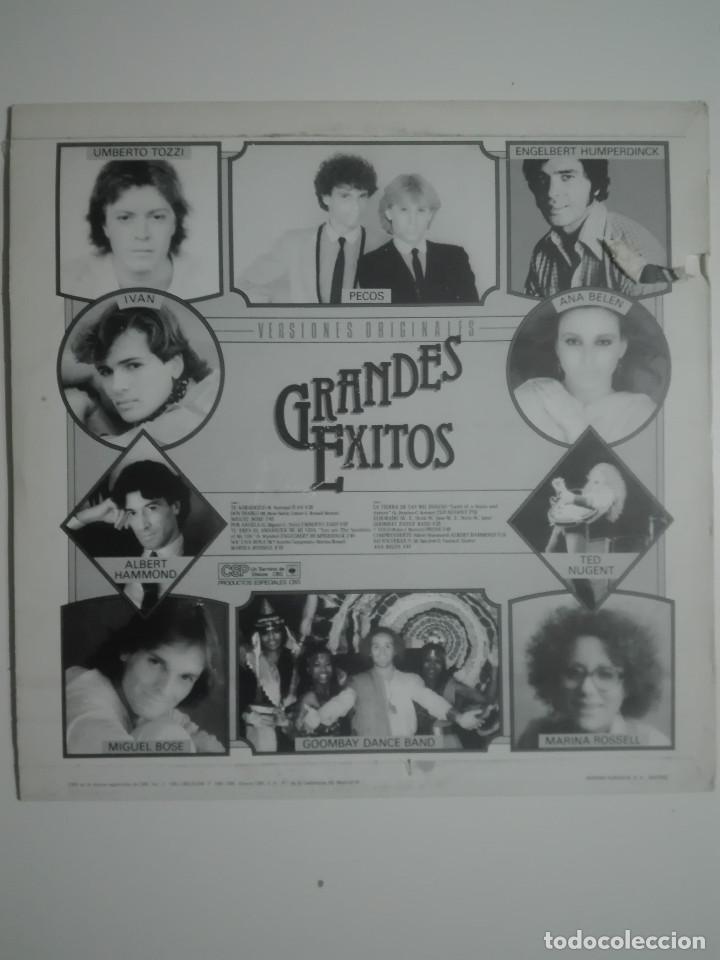 """Discos de vinilo: VINILO 12"""" LP GRANDES EXITOS ORIGINALES ANA BELEN MIGUEL BOSE PECOS TED NUGENT - 1981 - 220g - Foto 3 - 226128086"""