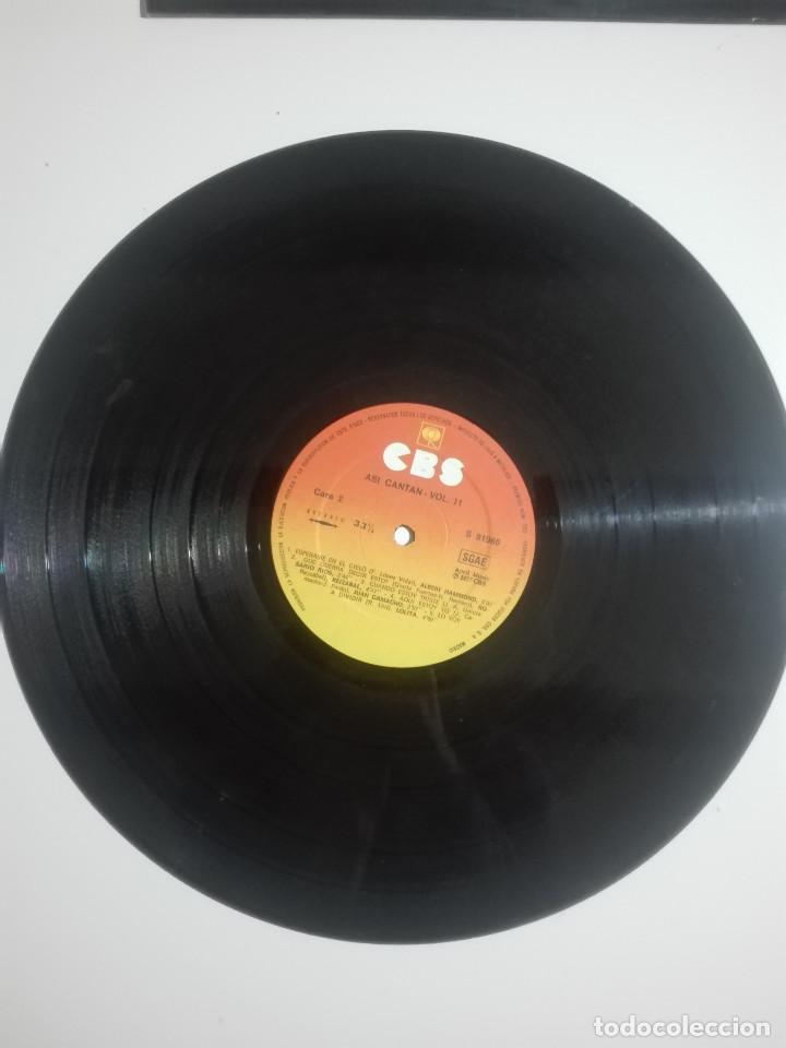"""Discos de vinilo: VINILO 12"""" LP ASI CANTAN VOL. 11 LOLITA LOS CHORBOS LAS GRECAS DIDI SHERMAN - 1977 - 230g - Foto 2 - 226130380"""