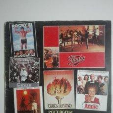 """Discos de vinilo: VINILO 12"""" LP BSO POLTERGEIST ROCKY III FAMA E.T. CARROS DE FUEGO GANDHI - CINE 1983 - 230G. Lote 226132360"""