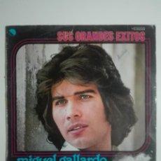 """Discos de vinilo: VINILO 12"""" LP MIGUEL GALLARDO SUS GRANDES EXITOS - 1976 - 220G. Lote 226135055"""