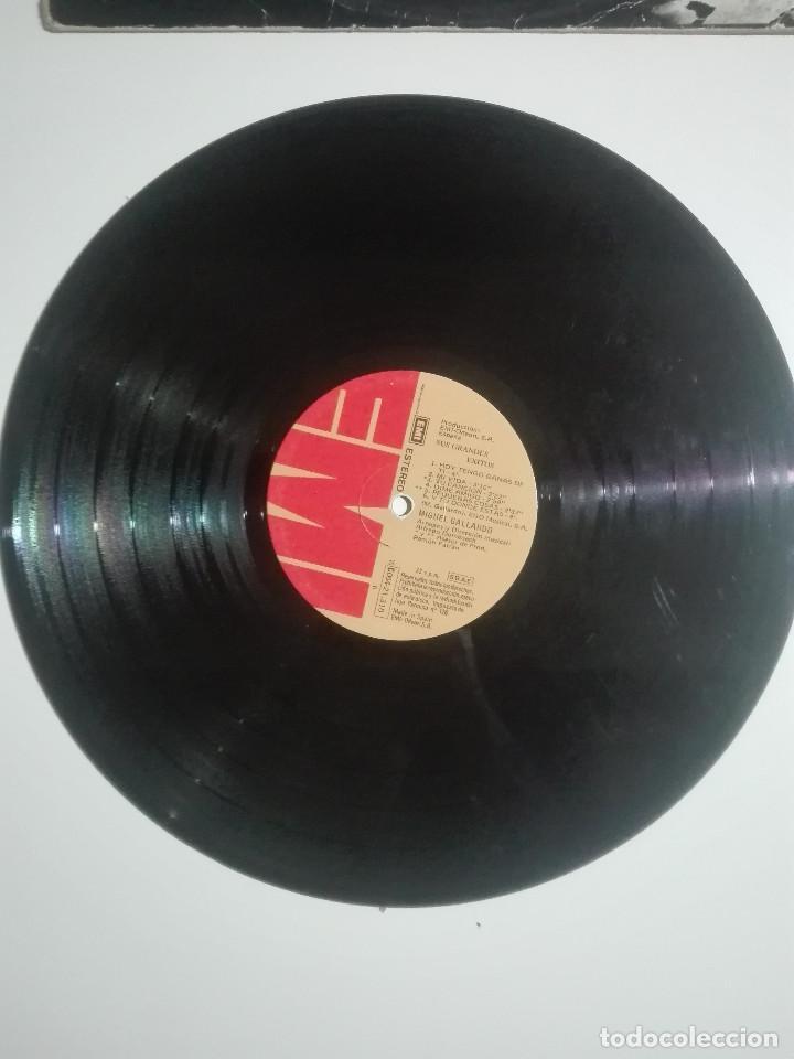 """Discos de vinilo: VINILO 12"""" LP MIGUEL GALLARDO SUS GRANDES EXITOS - 1976 - 220g - Foto 2 - 226135055"""
