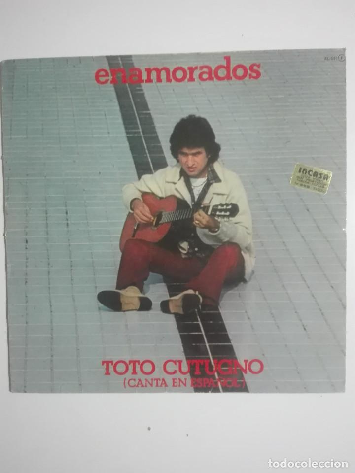 """VINILO 12"""" LP TOTO CUTUGNO ENAMORADOS (CANTA EN ESPAÑOL) - 1982 - 220G (Música - Discos - LP Vinilo - Canción Francesa e Italiana)"""