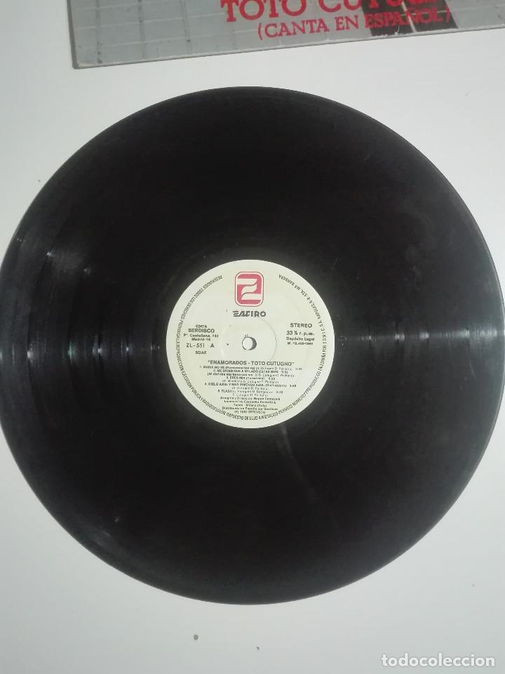 """Discos de vinilo: VINILO 12"""" LP TOTO CUTUGNO ENAMORADOS (CANTA EN ESPAÑOL) - 1982 - 220g - Foto 2 - 226135585"""