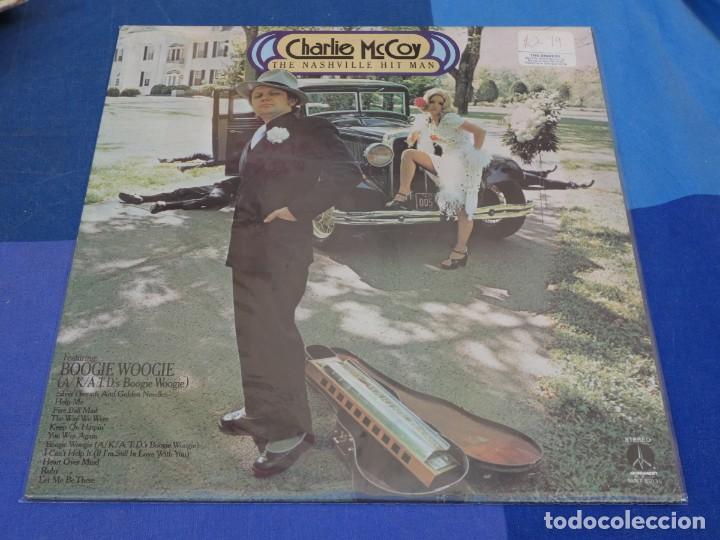 LOCH01 LP CHARLOTTE MC COY THE NASHVILLE HIT MAN UK 70S MUY BUEN ESTADO (Música - Discos - LP Vinilo - Pop - Rock - Internacional de los 70)