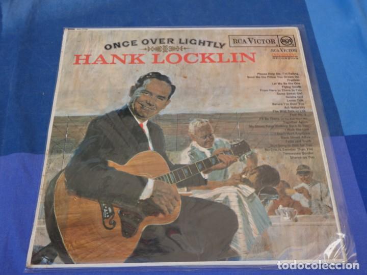 LOCH01 LP COUNTRY UK CIRCA 1968 HANK LOCKLING ONCE OVER LIGHTLY SOLO MUY LEVES SEÑALES DE USO (Música - Discos - LP Vinilo - Pop - Rock - Extranjero de los 70)