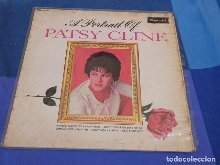 LOCH01 LP COUNTRY UK A PORTRAIT OF PATSY CLINE 1964? LEVES SEÑALES DE USO AUN ACEPTABLE (Música - Discos - LP Vinilo - Pop - Rock - Extranjero de los 70)