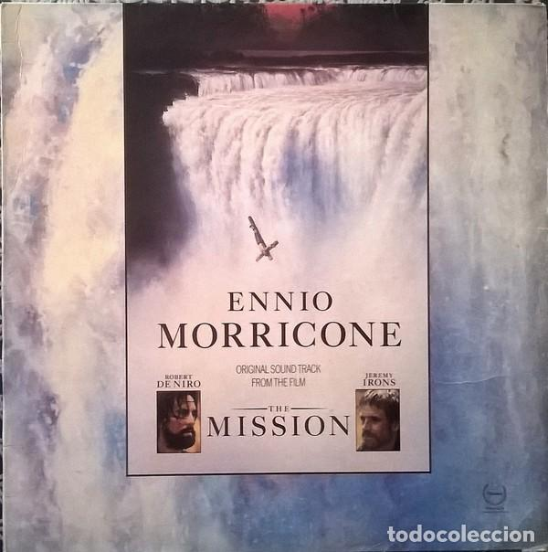 ENNIO MORRICONE – THE MISSION (ORIGINAL SOUND TRACK FROM THE FILM) - LP SPAIN 1986 (Música - Discos - LP Vinilo - Bandas Sonoras y Música de Actores )