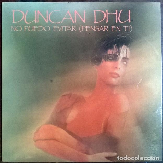 DUNCAN DHU. NO PUEDO EVITAR PENSAR EN TI/ FANTASMAS. GRABACIONES ACCIDENTALES, SPAIN 1986 SINGLE (Música - Discos - Singles Vinilo - Grupos Españoles de los 70 y 80)