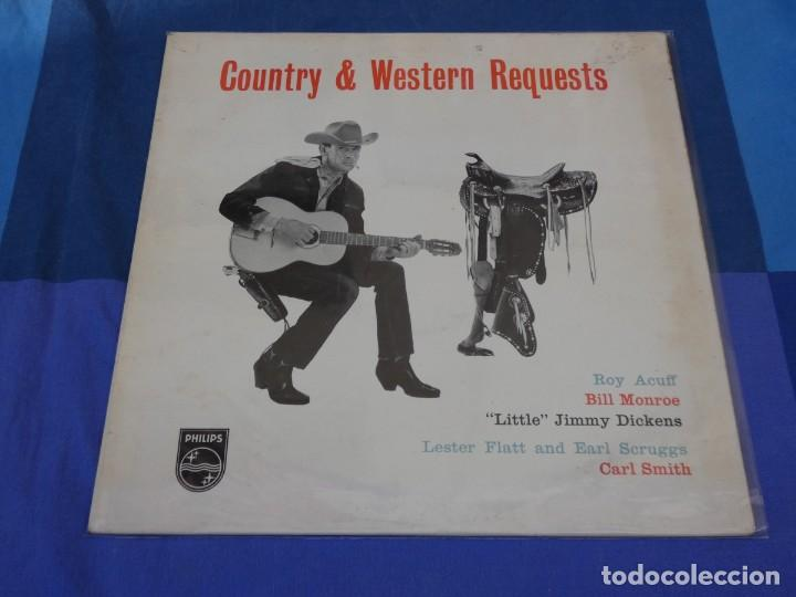 Discos de vinilo: LOCH01 LP Country uk CIRCA 1964 MUY BUEN ESTADO COUNTRY AND WESTERN REQUESTS - Foto 1 - 226142815